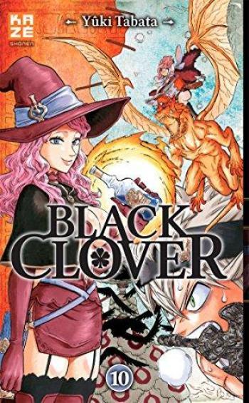 Couverture de l'album Black Clover - 10. Tome 10