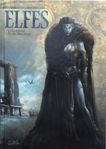 Couverture de l'album Elfes - 1. Le Crystal des elfes bleus