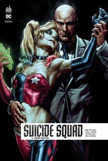 Couverture de l'album Suicide Squad Rebirth - 4. Terre brulée