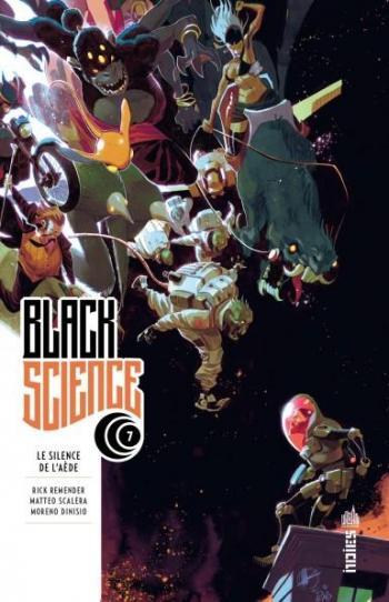 Couverture de l'album Black Science - 7. Le silence de l'Aède
