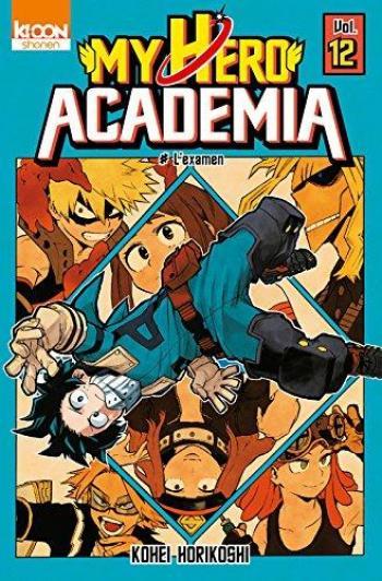 Couverture de l'album My Hero Academia - 12. L'examen