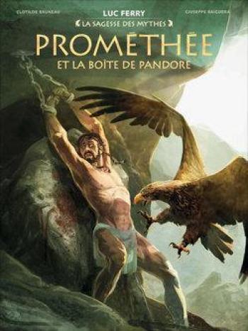 Couverture de l'album Prométhée et la boîte de Pandore (One-shot)