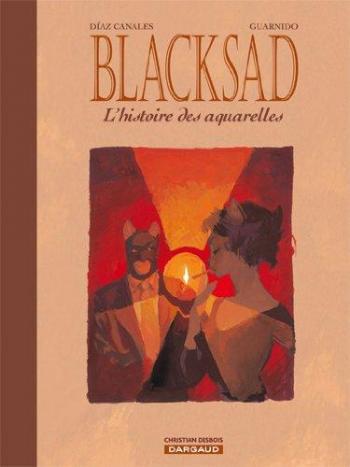 Couverture de l'album Blacksad - HS. L'Histoire des aquarelles