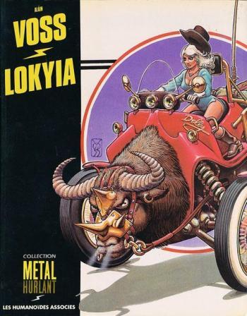 Couverture de l'album Lokyia (One-shot)