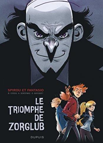 Couverture de l'album Une aventure de Spirou et Fantasio par... (Le Spirou de…) - HS. Le triomphe de Zorglub