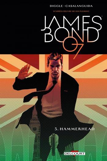 Couverture de l'album James Bond - 3. Hammerhead
