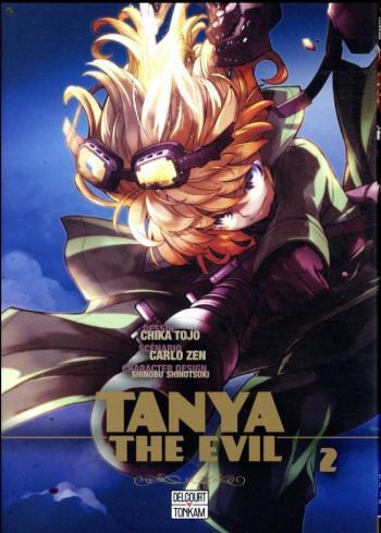 Couverture de l'album Tanya The Evil - 2. Tome 2