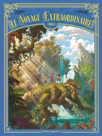 Couverture de l'album Le Voyage extraordinaire - 6. Les Îles mystérieuses III