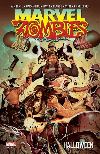 Couverture de l'album Marvel Zombies (Marvel Deluxe) - 4. Halloween