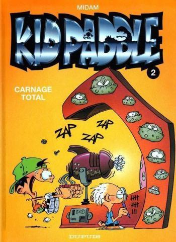 Couverture de l'album Kid Paddle - 2. Carnage Total