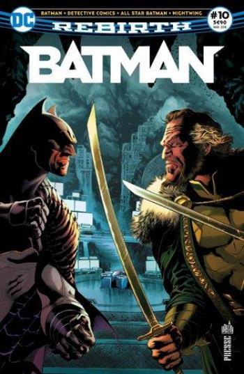 Couverture de l'album Batman Rebirth (Urban Presse) - 10. La Batcave est envahie