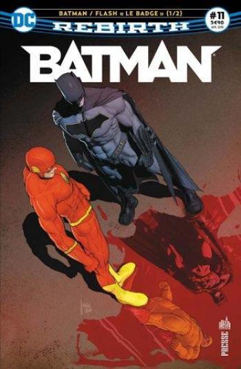 Couverture de l'album Batman Rebirth (Urban Presse) - 11. Le badge 1/2