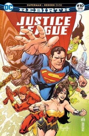 Couverture de l'album Justice League Rebirth (Urban Presse) - 10. Superman : Reborn 1/3