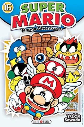 Couverture de l'album Super Mario - Manga Adventures - 16. Tome 16