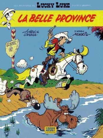 Couverture de l'album Les Aventures de Lucky Luke d'après Morris - 1. La belle province