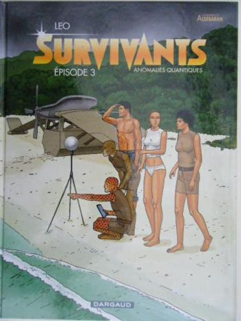 Couverture de l'album Les Mondes d'Aldébaran IV - Survivants - 3. Episode 3
