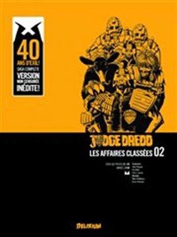 Couverture de l'album Judge Dredd : Les affaires classées - 2. Tome 2