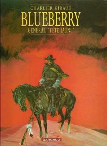 """Couverture de l'album Blueberry - 10. Général """"Tête jaune"""""""