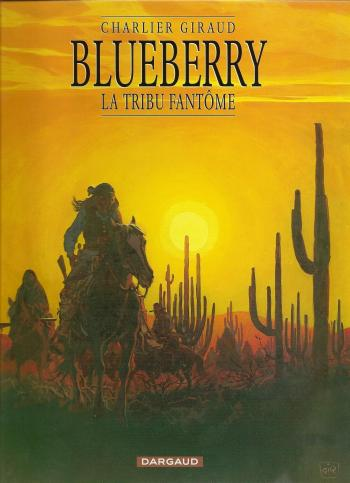Couverture de l'album Blueberry - 20. La tribu fantôme