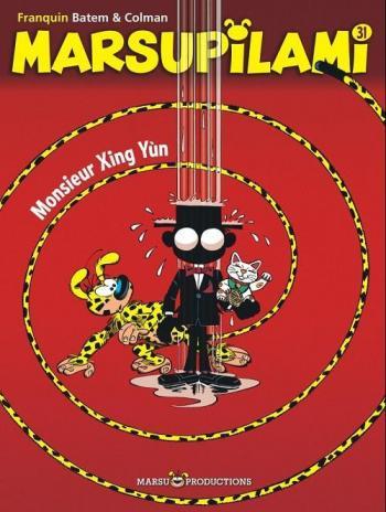 Couverture de l'album Marsupilami - 31. Monsieur Xing Yun