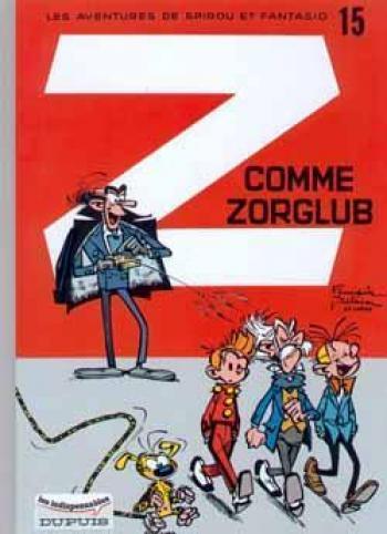 Couverture de l'album Spirou et Fantasio - 15. Z commeZorglub
