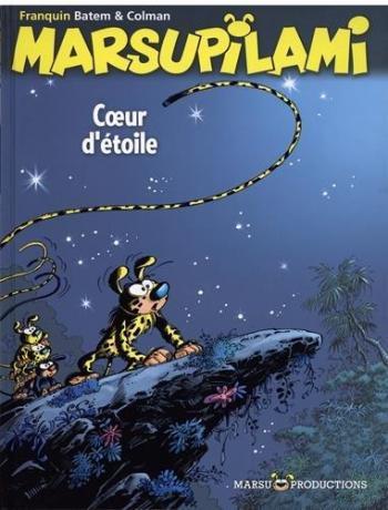 Couverture de l'album Marsupilami - 27. Coeur d'étoile