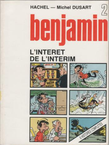 Couverture de l'album Benjamin - 2. L'intérêt de l'intérim