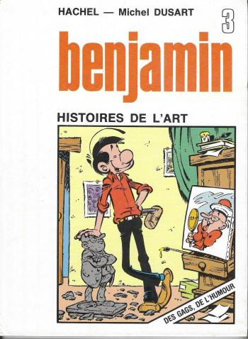 Couverture de l'album Benjamin - 3. Histoires de l'art