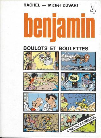 Couverture de l'album Benjamin - 4. Boulots et boulettes