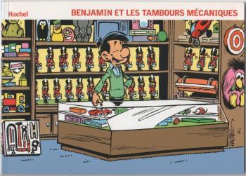 Couverture de l'album Benjamin - 7. Benjamin et les Tambours mécaniques / Benjamin en de Trommelaartjes