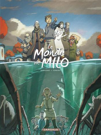 Couverture de l'album Le Monde de Milo - 3. La Reine noire 1/2