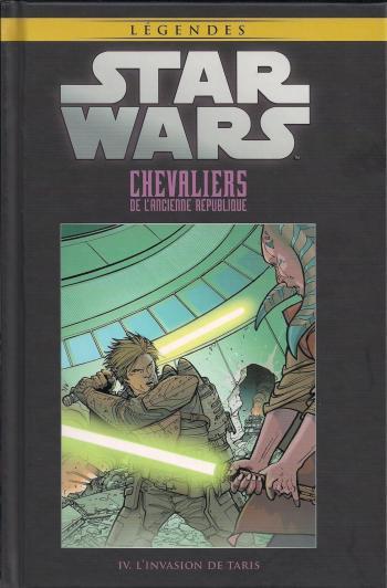 Couverture de l'album Star Wars (Collection Hachette) - 13. Chevaliers de l'ancienne République - IV L'invasion de Taris