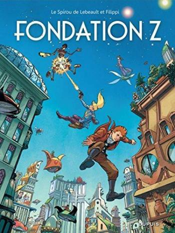 Couverture de l'album Une aventure de Spirou et Fantasio par... (Le Spirou de…) - 13. Fondation Z