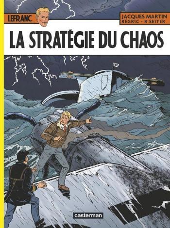 Couverture de l'album Lefranc - 29. La Stratégie du chaos