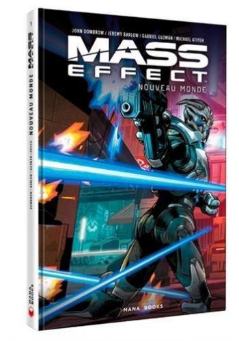 Couverture de l'album Mass Effect : Nouveau Monde (One-shot)