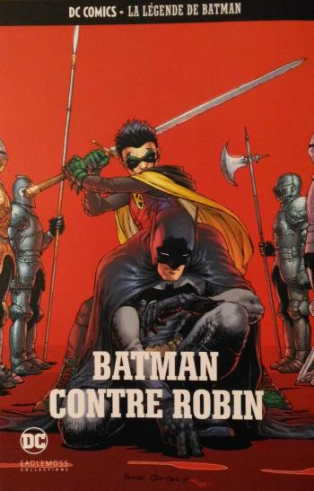 Couverture de l'album DC Comics - La légende de Batman - 49. Batman contre Robin