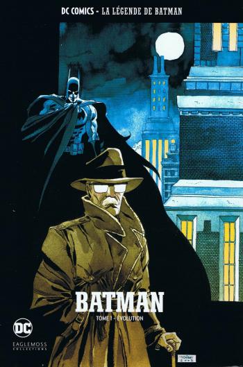 Couverture de l'album DC Comics - La légende de Batman - HS. Tome 1 - Evolution