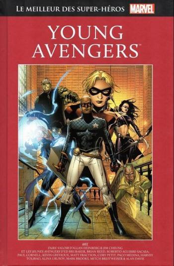 Couverture de l'album Marvel - Le meilleur des super-héros - 60. Young Avengers