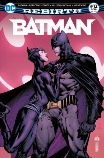 Couverture de l'album Batman Rebirth (Urban Presse) - 12. Les fiançailles de Batman !