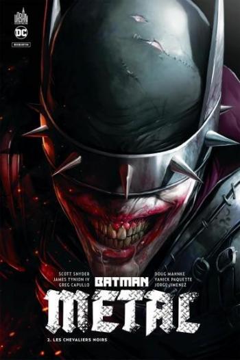 Couverture de l'album Batman Metal - 2. Les Chevaliers Noirs