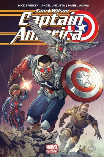Couverture de l'album Captain America - Sam Wilson - 2. Tome 2