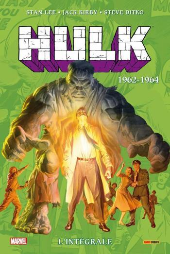 Couverture de l'album Hulk - L'Intégrale - 1. 1962 - 1963
