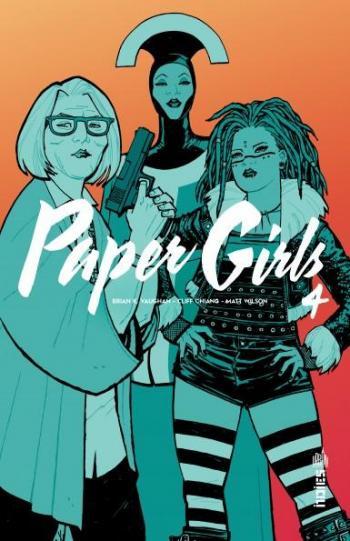 Couverture de l'album Paper Girls - 4. Tome 4