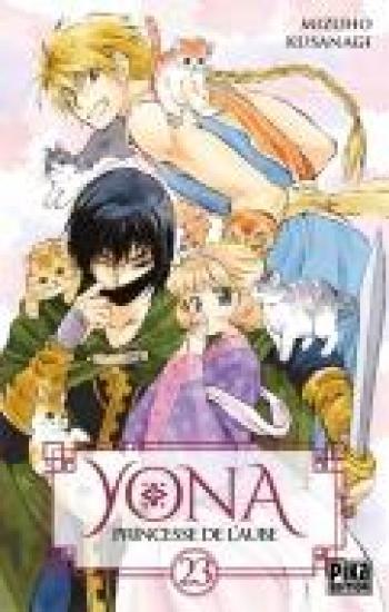 Couverture de l'album Yona - Princesse de l'aube - 23. Tome 23