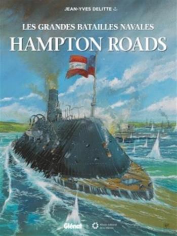 Couverture de l'album Les Grandes Batailles navales - 7. Hampton Roads