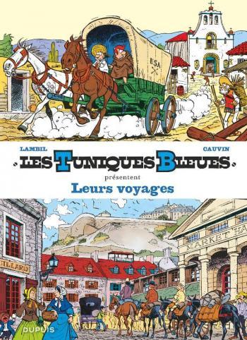 Couverture de l'album Les Tuniques bleues présentent - 10. Leurs voyages