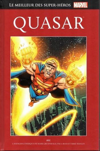 Couverture de l'album Marvel - Le meilleur des super-héros - 81. Quasar