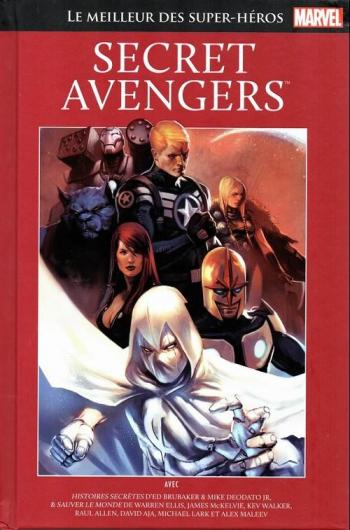 Couverture de l'album Marvel - Le meilleur des super-héros - 93. Secret Avengers