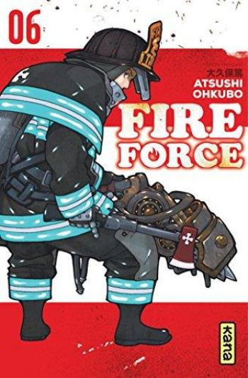 Couverture de l'album Fire Force - 6. Tome 6