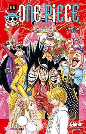 Couverture de l'album One Piece - 86. Opération régicide